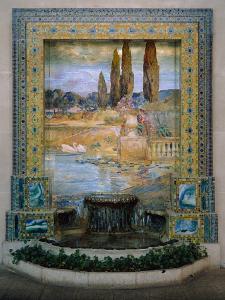 Garden Landscape, c.1905?15 by Louis Comfort Tiffany
