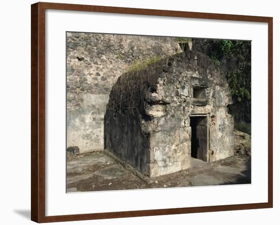 Louis Cyparis's Jail, Saint Pierre, Martinique, West Indies, Caribbean, Central America-Thouvenin Guy-Framed Photographic Print