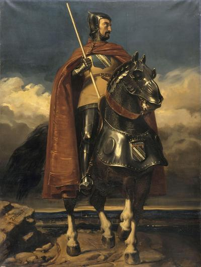 Louis de Champagne, comte de Sancerre, maréchal de France en 1368, connétable en 1397 (?-1402)-Jules Claude Ziegler-Giclee Print