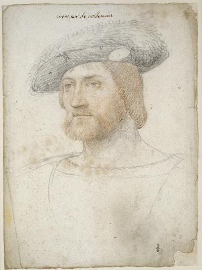 Louis de Lorraine, comte de Vaudémont (1500-1528)-Jean Clouet-Giclee Print