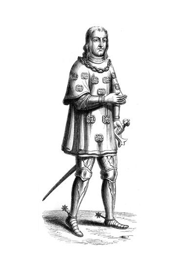 Louis De Mallet, Lord of Graville and Admiral of France, 16th Century--Giclee Print