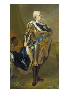 August the Strong, King of Poland and Saxony by Louis de Silvestre