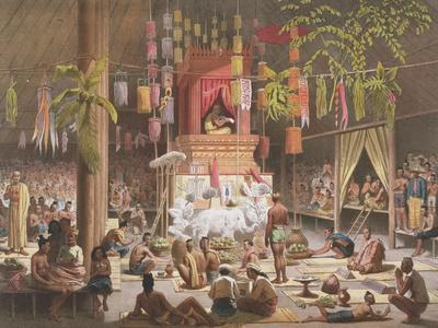 Festival in a Pagoda at Ngong Kair, Laos