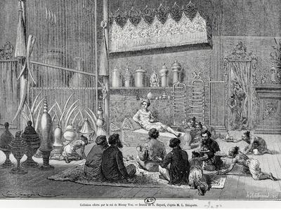 Food Offered by the King of Muong You, 1877