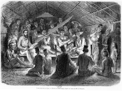Musical Soiree in Laos, 1867
