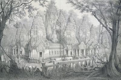 Ruins of Bayon, Cambodia, 1873
