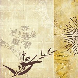 Golden Henna Breeze 1 by Louis Duncan-He