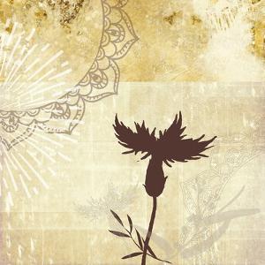 Golden Henna Breeze 2 by Louis Duncan-He