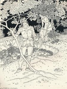 Illustration to Spensers Faerie Queene. Canto Ii. Verse 30, C1895 by Louis Fairfax Muckley