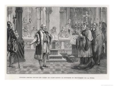 Galileo Denies the Movement of the Earth to the Judges of the Holy Office