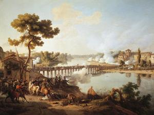 Battle of Lodi, First Italian Campaign, May 10, 1796 by Louis Francois Lejeune