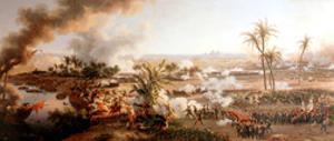 Battle of the Pyramids, Egypt, 21 July 1798. Artist: Louis Francois Lejeune by Louis Francois Lejeune