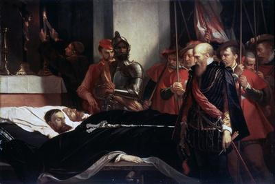 The Last Respects to the Remains of the Counts Egmont and Hoorn, 1863