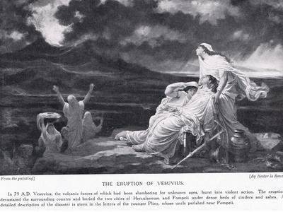 The Eruption of Vesuvius 79 AD