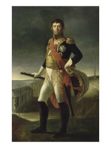 Jean-de-Dieu Soult, maréchal duc de Dalmatie (1769-1851), maréchal de l'Empire, ministre by Louis Henri De Rudder