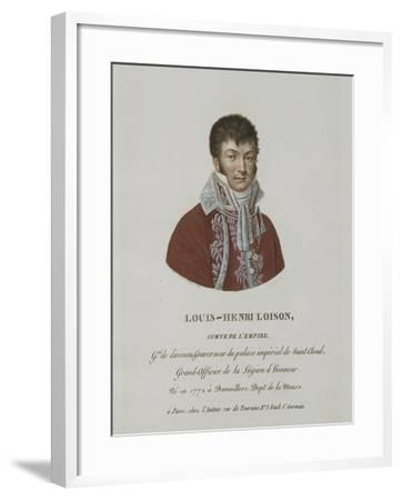 Louis-Henri Loison, comte de l'Empire, né en 1772 à Damvillers.--Framed Giclee Print
