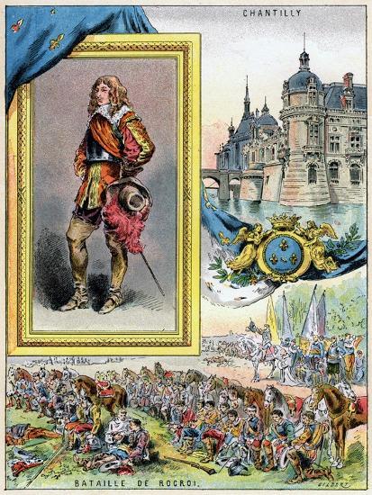 Louis II De Bourbon, Prince De Condé, 1898--Giclee Print
