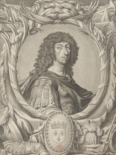 """Louis II de Bourbon, Prince de Condé dit """"Le grand Condé"""" (1621-1686)-Michel Lasne-Giclee Print"""