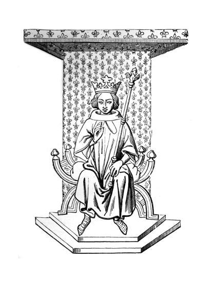 Louis IX, 14th Century--Giclee Print
