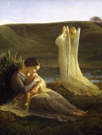 Angel and Mother, 1854