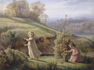 Le Poème de l'âme. Le printemps by Louis Janmot