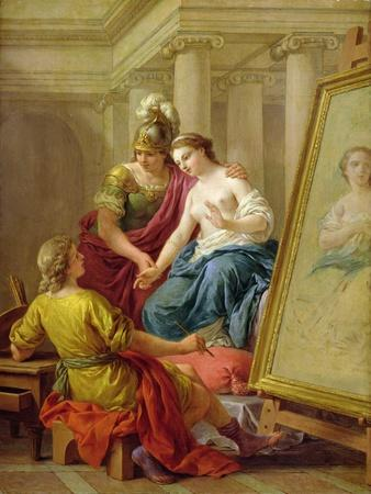 Apelles in Love with the Mistress of Alexander, 1772