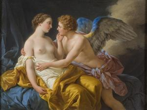 Cupid and Psyche, before 1805 by Louis-Jean-François Lagrenée