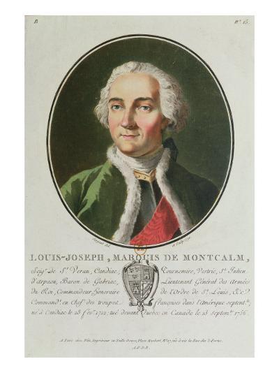Louis-Joseph de Montcalm-Antoine Louis Francois Sergent-marceau-Giclee Print