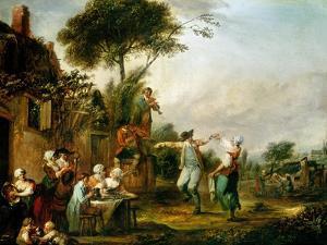 Country Wedding, 1797 by Louis Joseph Watteau