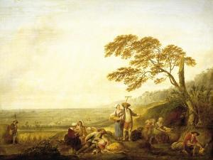 Four Hours of Day: Noon, 1774 by Louis Joseph Watteau