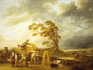 Four Hours of Day: Vespers, 1774 by Louis Joseph Watteau