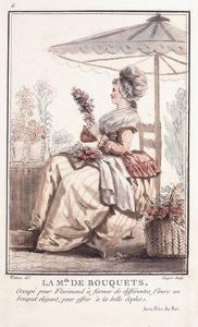 La M. De Des Bouquets, 1786 by Louis Joseph Watteau