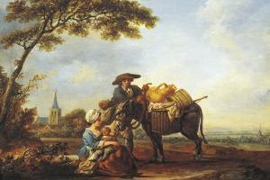 Return from Market, 1785 by Louis Joseph Watteau