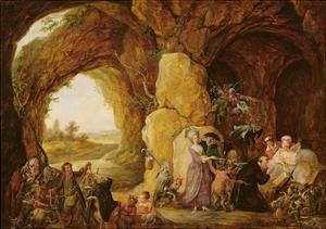 The Temptation of St. Anthony, 1781 by Louis Joseph Watteau
