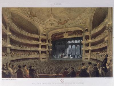 Academie Imperiale De Musique, Paris, C.1855