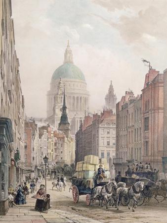 Fleet Street, C.1850