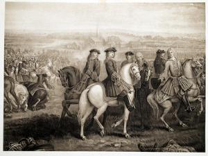 Battle of Blenheim, Pub. 1902 by Louis Laguerre