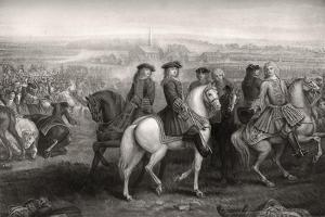 The Battle of Blenheim, 1704 by Louis Laguerre