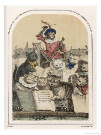 The Concert des Chats, a Feature of the Foire de Saint- Germain