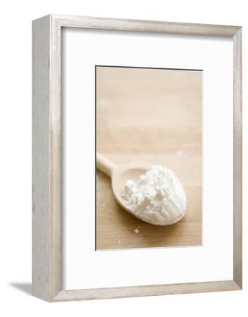 Flour on Wooden Spoon