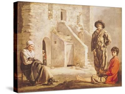 Peasants Before Their House, circa 1641