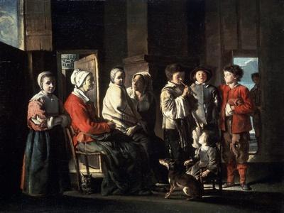 The Visit to the Grandmother, 1645