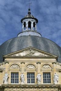 Facade of Chateau of Vaux-Le-Vicomte, 1656-1661 by Louis Le Vau