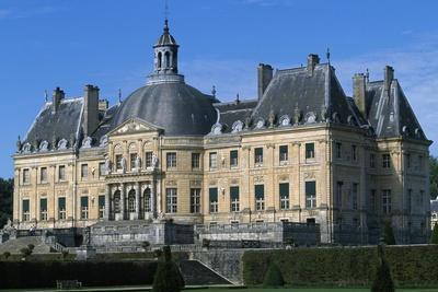 View of Chateau of Vaux-Le-Vicomte, 1656-1661