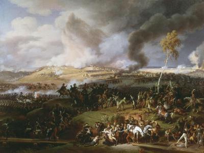 Battle of Borodino or the Moskva, September 7, 1812, between Napoleon and Kutuzov