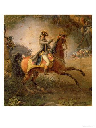 The Battle of Marengo, Detail of Napoleon Bonaparte