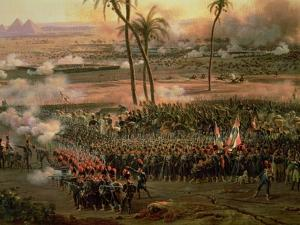 The Battle of the Pyramids, 21 July 1798, 1806 by Louis Lejeune