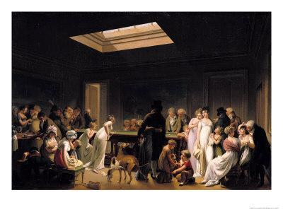 A Game of Billiards, 1807