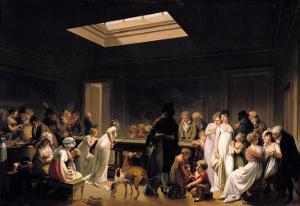 A Game of Billiards, 1807 by Louis Leopold Boilly