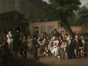 Entrance to the Jardin Turc, 1812 by Louis Leopold Boilly